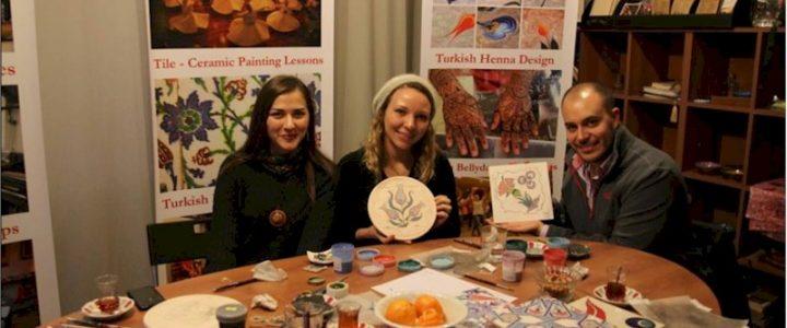 Уроки традиционной турецкой росписи керамики и изразцов (Cini). Мастер-классы в Стамбуле