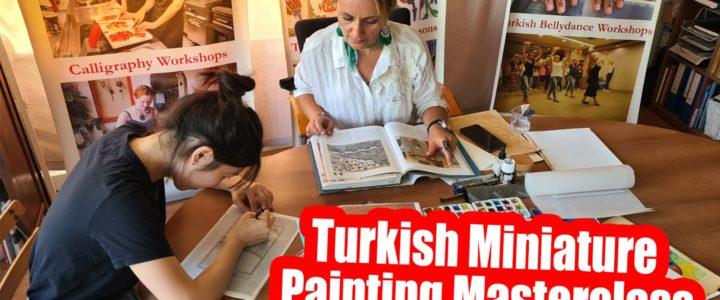 Традиционное турецкое искусство Эбру